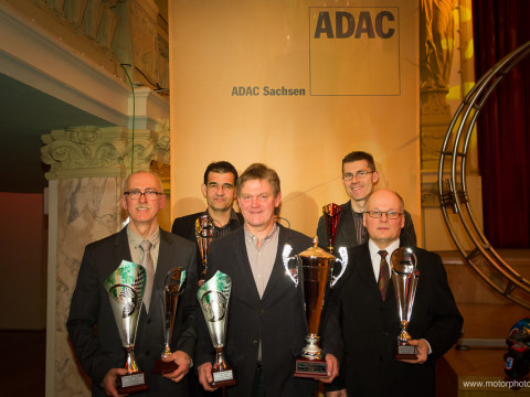 Dieter Hoffmann, Holger Kiwatt, Nils-Holger Wilms, Rocco Berger, Jaak Kuul (v.l.n.r.) © Michael Krause · motorphoto.de